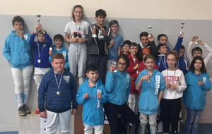 Open Aura - Equipe M13 Epée-  BOURG ST ANDEOL